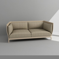 3d model sofa armchair