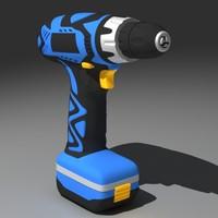 3d screwdriver drill