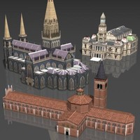3d church house