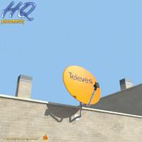 3d antenna 01 model