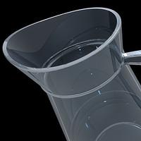 carafe water 3d model