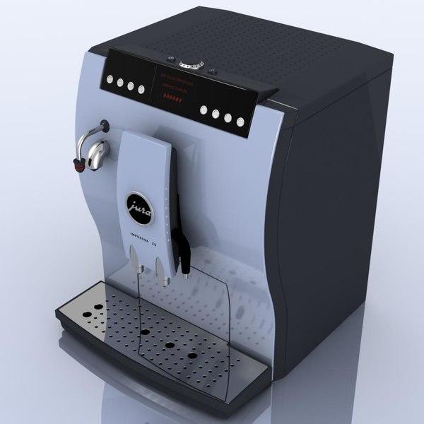 3d coffeemaker jura impressa z5. Black Bedroom Furniture Sets. Home Design Ideas