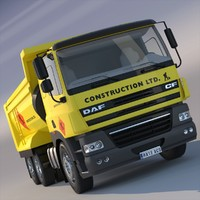 DAF CF85/FAT Dumper