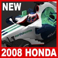 2008 honda ra108 1 3d c4d