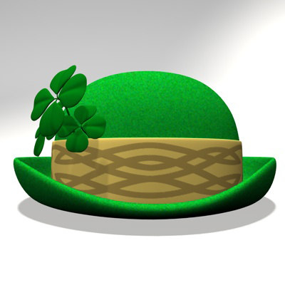 3d st patrick day hat model - St. Patricks Day Hat 2.zip... by Leah Apanowicz