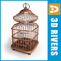 Birds cage 01 by 3DRivers