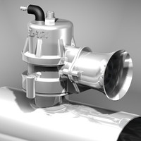 blitz blow valve 3d model