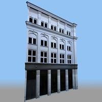 Modular European 3D Facade C