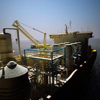 FPSO Drill Ship