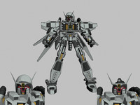 gundam wings 3d model