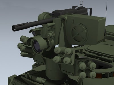 3d m1126 stryker icv 2 model - M1126 Stryker ICV #2... by Mesh Factory