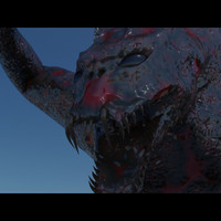 3d model monster fantasy type