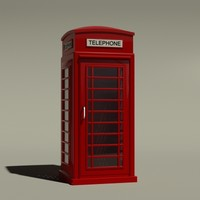 phonebooth phone 3d 3ds