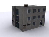 3d industrial modern europe model