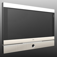 tv set loeve 3d model
