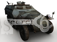 3d model 251 world war