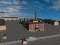 3d motor depot model