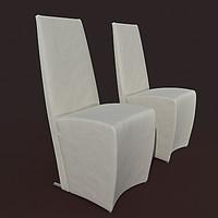 armchair cattelan itallia vannila 3ds