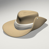 3d australian hat
