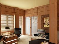 3d cabinet japan style