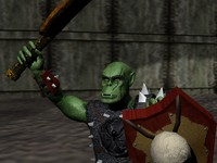 3d model orc warlord