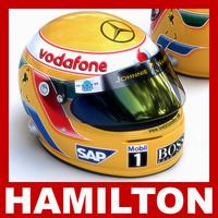 Lewis Hamilton F1 Helmet