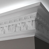 3d moulding stucco model