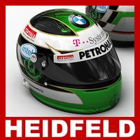 Nick Heidfeld F1 Helmet