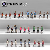 3D People: Still Children Vol. 03