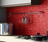 Metal Shelve for kitchen , repisa de metal para cocina