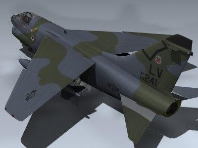 A-7D Corsair II (4450th TS)