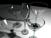 3ds max cocktail glasses
