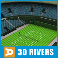 Tennis stadium 01 by 3DRivers