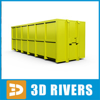 Container 01 by 3DRivers