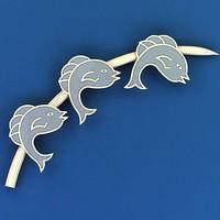 max dolphin brooch
