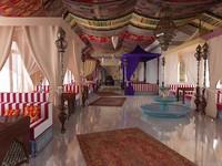 3dsmax interior restaurant middle