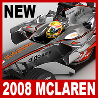 2008 Vodafone McLaren Mercedes MP4-23