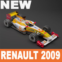 Renault F1 2009 Vray