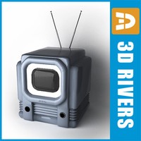 Retro TV 02 by 3DRivers