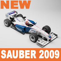 BMW Sauber F1 2009 Mental Ray