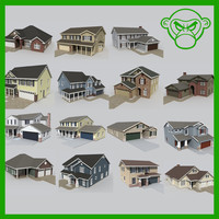 house set 3d model