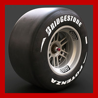 Formula 1 Wheel (new slick, rim and brakes)
