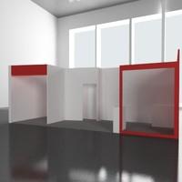 illumination stand 3d model