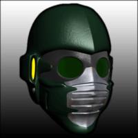 3d star mask model