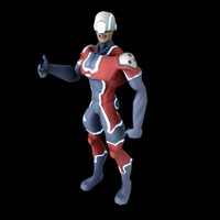 character normal specular 3d model