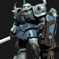 MS-07B-3 GOUF CUSTOM