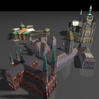 3d model of church house