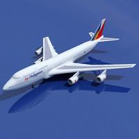 3dsmax b 747 philippines