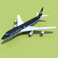 Boeing 747 USA 1