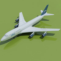 JetBlue Airways Boeing 3D Model